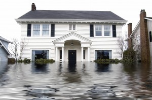 Houses with floods